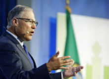 Gov. Jay Inslee on East Coast to talk climate change: 'States are leading the way'