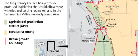 Rural Woodinville winery party renews neighbors' concerns about famland impact